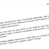 Letter from Repubblika to Police Commissioner on Macbridge